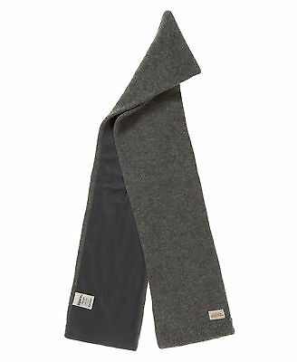 Neue Superdry Misty Scarf Charcoal Mix