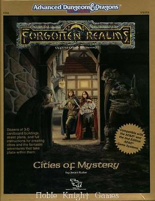 TSR Forgotten Realms Cities of Mystery Box VG+