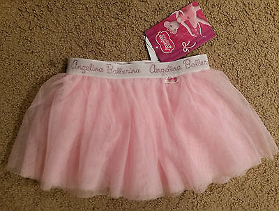 Brand New Girls Angelina Ballerina Dance Tutu Skirt - Size 4