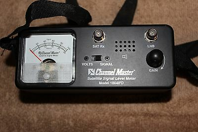 Channel Master Satellite Signal Level Meter Model 1004 IFD