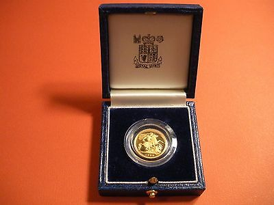 1980 Great Britain   Gold 1/2 Sovereign   Proof