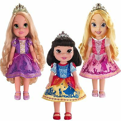 Disney Princess Toddler Doll Rapunzel Snow White OR Sleeping Beauty Girl Toy NEW