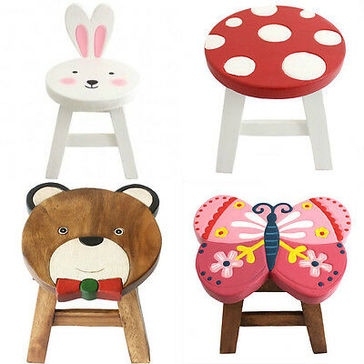 Beautifully Crafted Wooden Animal / Retro Stools Free UK P&P Prcied Individually
