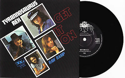 """T. Rex - Get It On / There Was A Time / Raw Ramp - 7"""" EU Vinyl 45 - New Unplayed"""