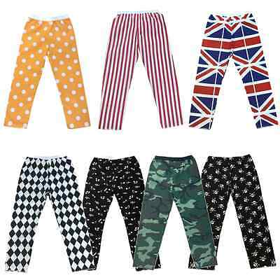 GIRLS BOYS Play Dance COSTUME Trousers Polka Dot / Pirate / Stripes Fancy Dress
