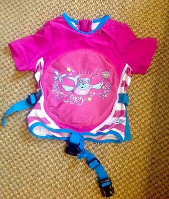 Girls Zoggs Swimming jacket Miss Zoggy 2-3 years