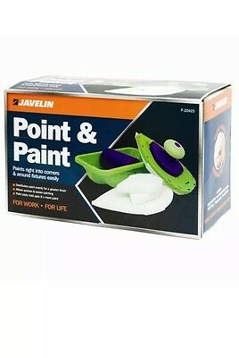 1X Point & Paint Diy Painting Set/pro 4 Pads Roller N Tray