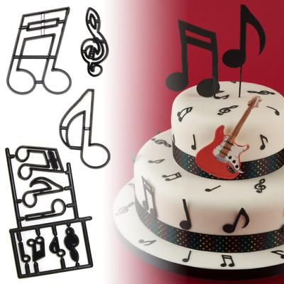 Patchwork Cutters - Extra Large Music Notes - Sugarcraft Cake Decorating