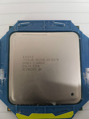 Intel Xeon E5-2670 2.60Ghz 8-Core Processor CPU