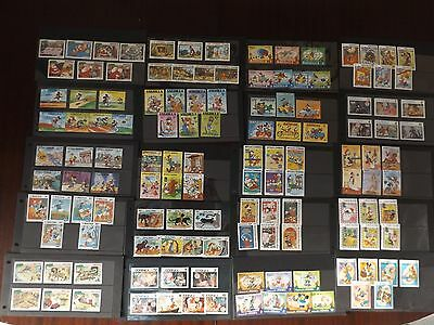 (Lot 1) Amazing Collection Of Mnh Disney Stamps From Various Worldwide Countries
