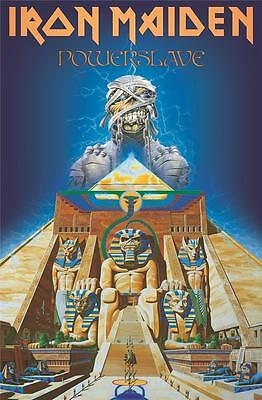 Official Licensed - Iron Maiden - Powerslave Textile Poster Flag Metal