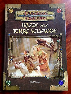 D&d Dungeons & Dragons 3.5 Razze Delle Terre Selvagge Nuovo Italiano