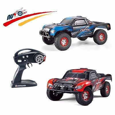 RC Drift Car 1:12 scale 2.4GHz Radio System 4WD Rock Racer High Speed only RED