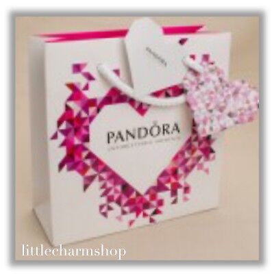 New PANDORA Gift Bag With Ribbon - Different Styles Available