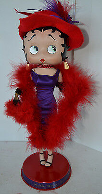 Betty Boop Red Hot Betty Is A Red Hot Lady  Danbury Mint No box