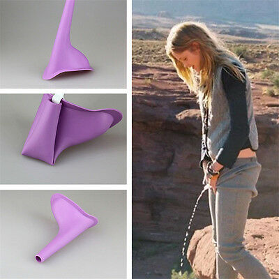 Women Standing Urinal Travel Camping Urination Urinal Female Portable Funnel
