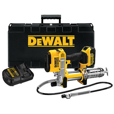 DeWalt DCGG571M1 18v Li-Ion Grease Gun C/1 1x 4Ah Battery