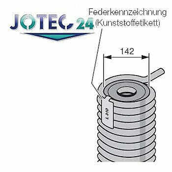 Hörmann Torsionsfeder R326 für Industrie- Sectionaltore - 3043684_1