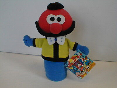 Magic Roundabout Zebedee Soft Toy Plush Rare with Downpace tag