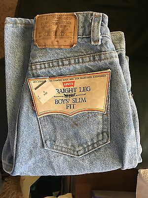 Levi's Vintage Jeans Boys 14 Slim Made In USA 25 Inch Waist