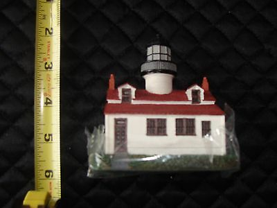 Lefton's Historic American Lighthouse Point Pinos CCM12427 Original Box