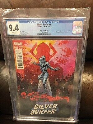 Silver Surfer #1 Incentive CGC 9.4 Wil Sliney Deadpool Variant 2016 NM Marvel