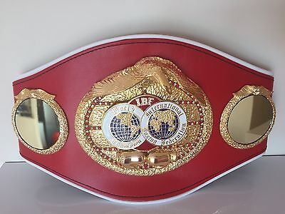 Official IBF Championship boxing belt with case!Also selling genuine IBO,WBO,WBA