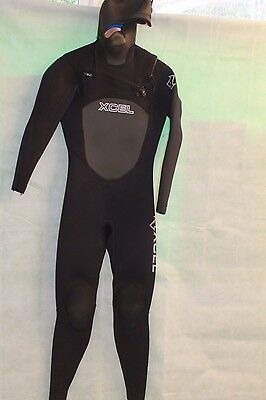 Xcel Infiniti Hooded 5/4Mm Wetsuit Size S Rrp £340