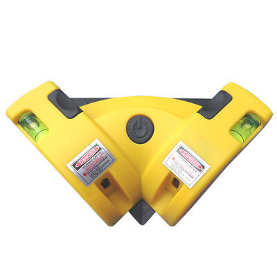 Right Angle 90Degree Square Laser Level Vertical Horizontal Alignment Tool