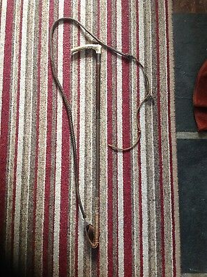 Vintage wooden horse riding whip