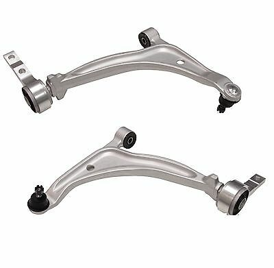 NEW Set Of 2 Front Lower Control Arms & Ball Joint Pair For Nissan Altima Maxima