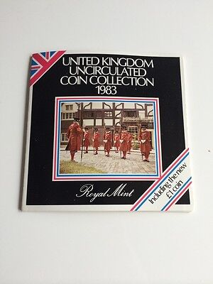 Royal Mint United Kingdom Uncirculated Coin Collection 1983