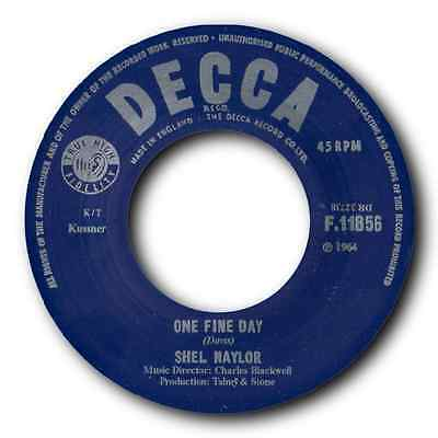 """Shel Naylor - """"one Fine Day"""" Top Freakbeat Mover! Hear It."""