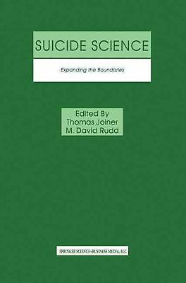 Suicide Science: Expanding the Boundaries (English) Paperback Book Free Shipping
