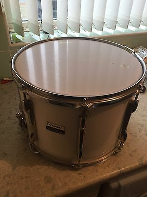 """Vintage Olympic Premier Everplay Marching Snare Drum 14"""""""