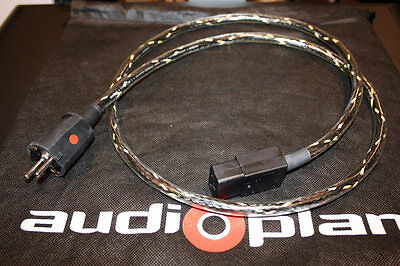 Audioplan PowerCord S 1.5m mains power cable. European Plug. Like Symphonic Line