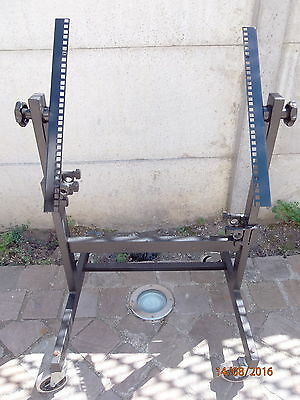 Support Rack 19 Metal A Roulettes