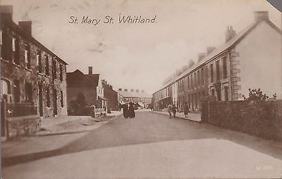Vintage 1927 Card Of St Mary St, Whitland