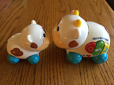 VTech Kiss and Care Cows Toy - Cute Kids Gift (Age 0-3)