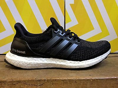 ADIDAS ULTRA BOOST M Noir Baskets Homme Sneakers Running Shoes Black BB3909