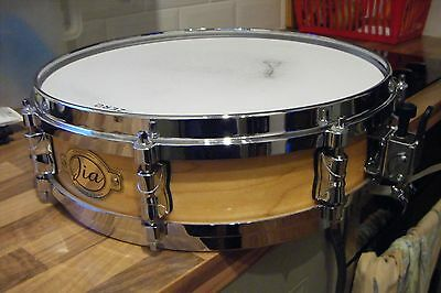 "Snare drum maple, 14"" x 4"" shell. Stagg Jia pro model"