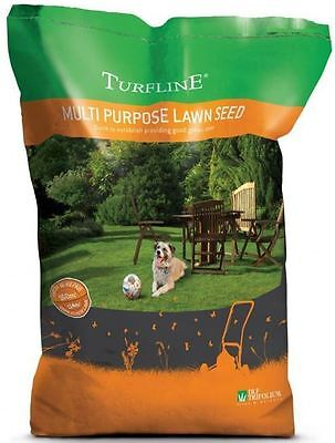 Turfline Multi Purpose Green Healthy Lawn Recovery Grass Seed Bag 4kg