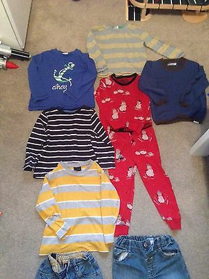 Boys Bundle of Tops and Jeans  Size 2-3 Years