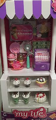 """My Life As Snack Stand / Ice Cream Cart - American Girl, Our Generation 18"""" Doll"""