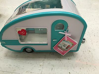 NWT-LORI by OUR GENERATION ROLLER GLAMPER CAMPER FITS AMERICAN GIRL MINIS