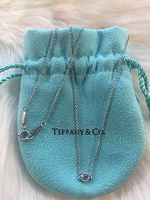 """Authentic Tiffany & Co Colour by the yard Aquamarine 17"""""""