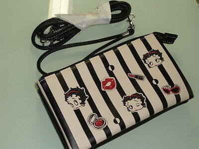 Original Betty Boop Multipurpose Bag Purse pouch with shoulder tape #942