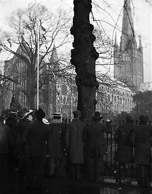 PHOTOGRAPHIC GLASS NEGATIVE NORWICH CATHEDRAL VICTORIAN NORFOLK c1895