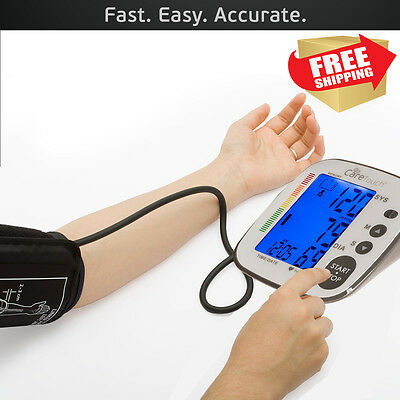 CARETOUCH Automatic Upper Arm High Low Blood Pressure Monitor FDA Approved