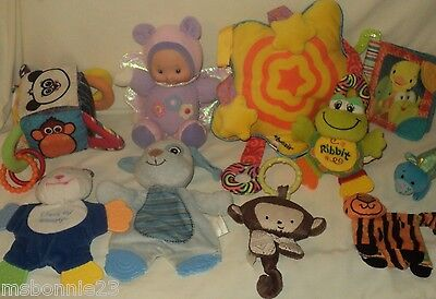 Baby TOY LOT age 6 Months & Up Crib/Carriage/Carrier ~ 10 Toys